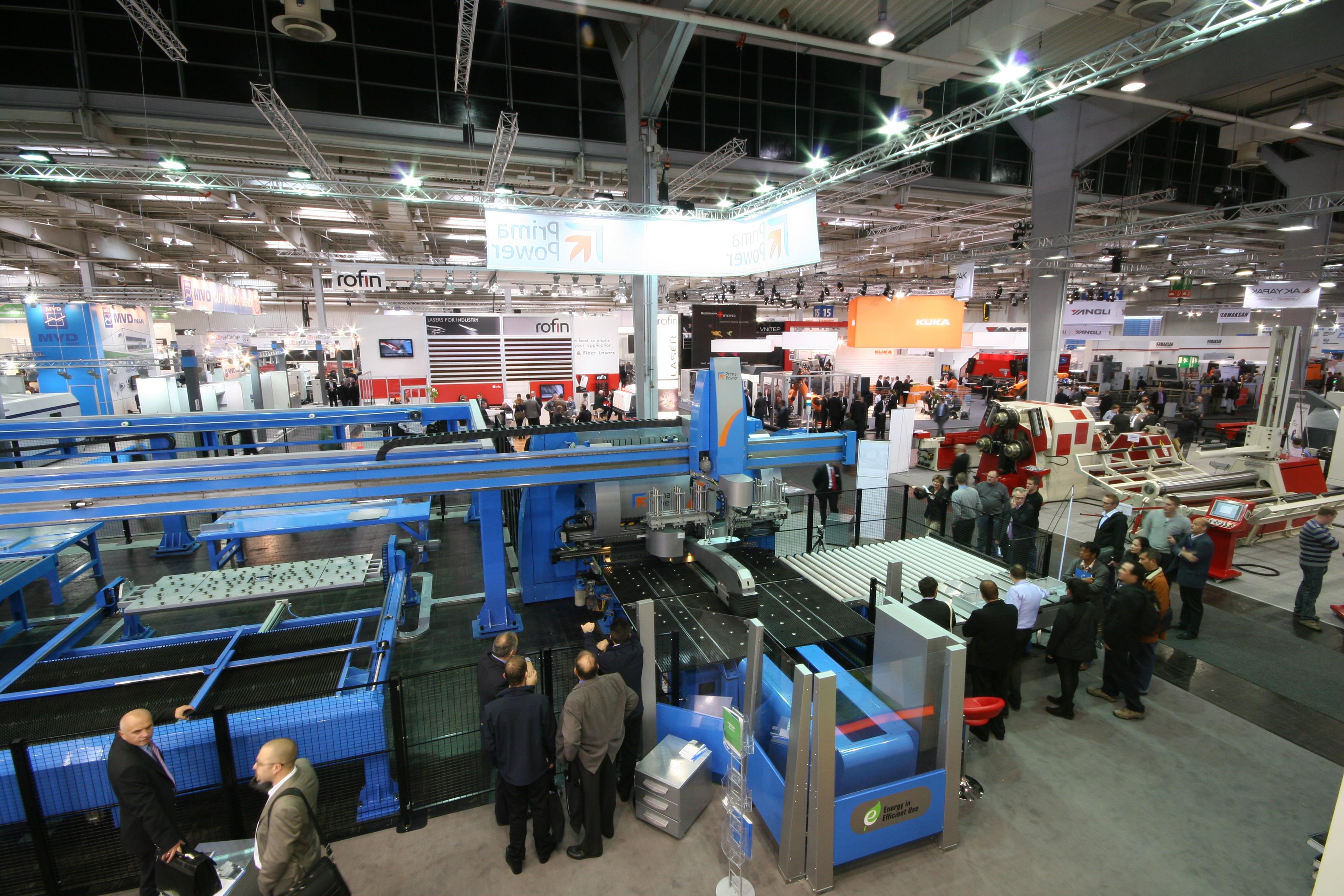 23 fiera internazionale tecnologica della lavorazione for Fiera tecnologica milano 2016