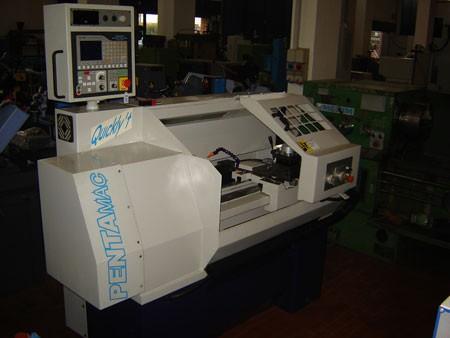 Tornio a cnc pentamac mtm machine tool market for Tornio cortini
