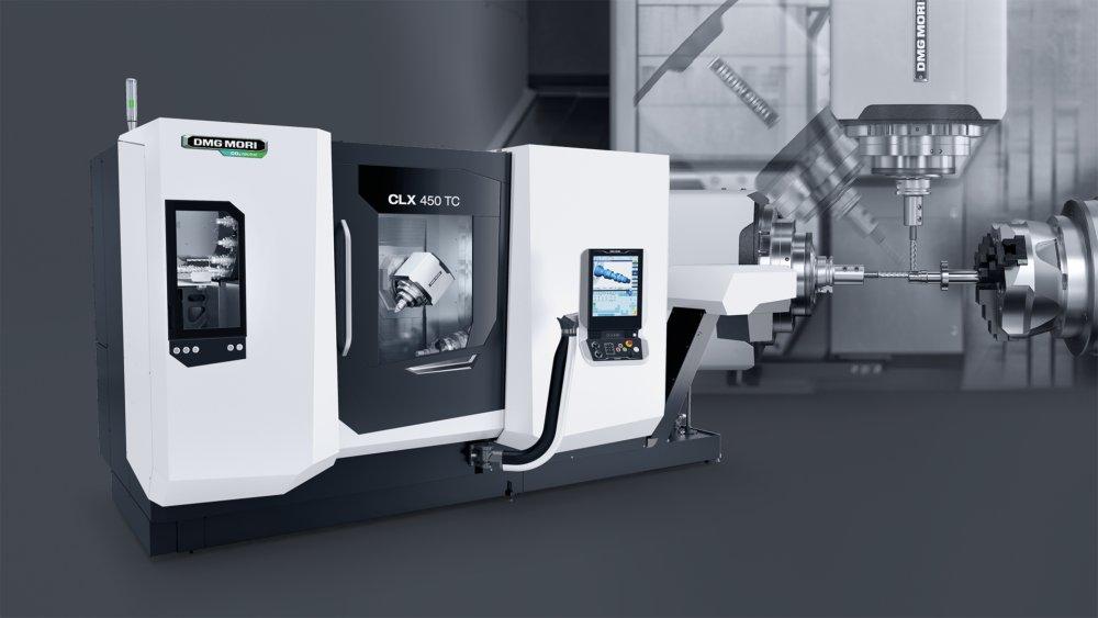Anteprima mondiale: DMG MORI presenta il centro di tornitura/fresatura CLX 450 TC, la nuova generazione nella lavorazione completa su 6 lati
