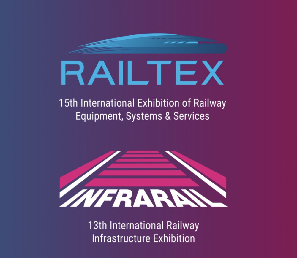 Preparations well underway for Railtex/Infrarail - the meeting place for the rail industry in 2021